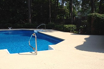 Spray decking services in Sumter SC